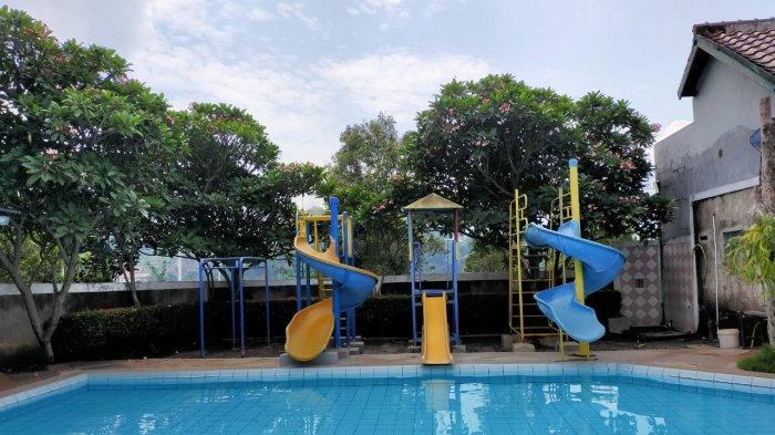 kolam anak pada kolam renang Panorama di Jalan Cigending No 47, Ujungberung