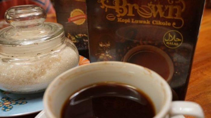 Produk kopi luwak Cikole