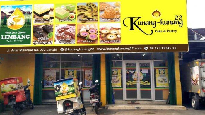 Kue balok pasopati dijual di Kedai Kunang-kunang Jalan Amir Machmud, Cimahi