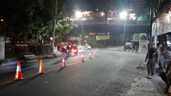 Lalu lintas di Kawasan Gunung Butak di Palabuhanratu dalam pantauan polisi