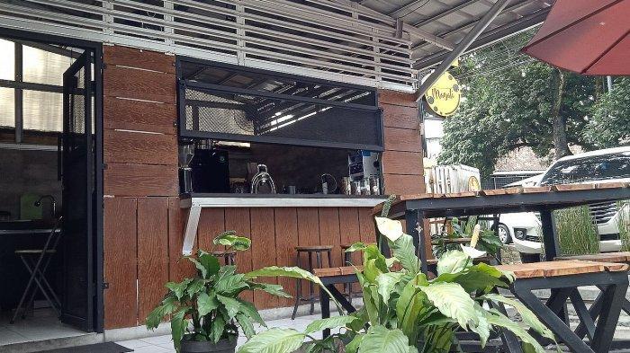 Kedai Magali Coffee di Jalan bengawan, Bandung