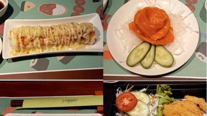 Aneka menu di Midori Japanese Restaurant, Jalan Sultan Tirtayasa No 31, Bandung