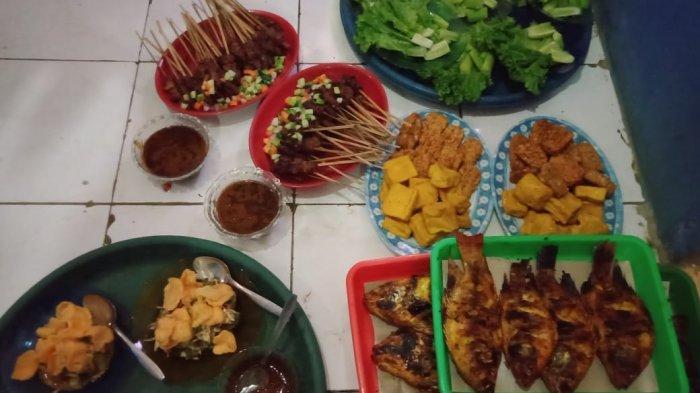 Santapan Munggahan dengan Aneka Ikan dan Ayam Bakar dan Nasi Liwet dari Rumah Makan di Cirata