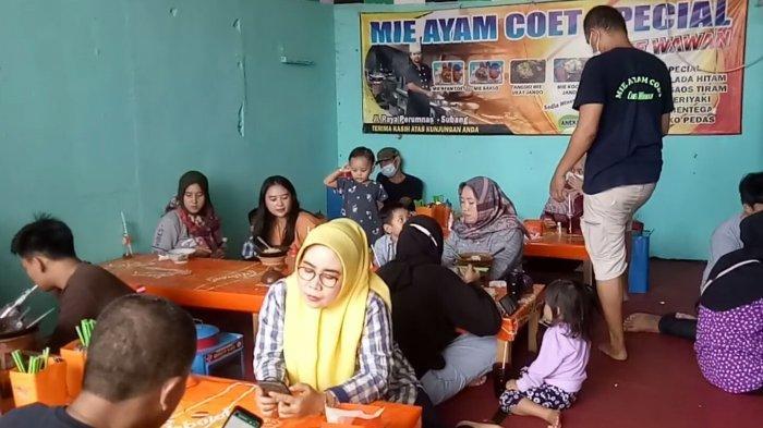 Rumah Makan Mie Ayam Coet Spesial, Jalan Letjen Soetoyo, Kabupaten Subang
