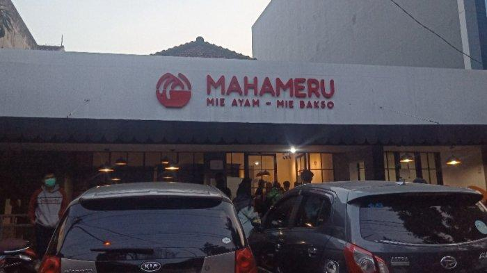 Outlet Mie Mahameru di Jalan KH Ahmad Dahlan No 34 Bandung