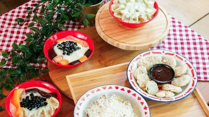Berbagai menu dimsum yang kini ada di Mie Merapi