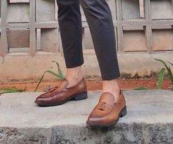 Sepatu kulit formil Prabu Indonesia