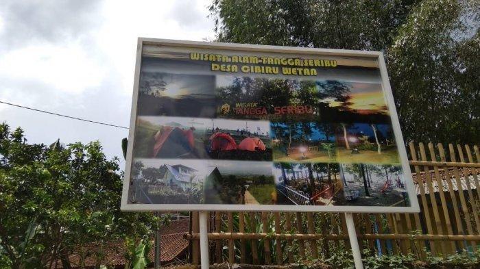 Objek wisata tangga seribu di Desa Cibiru Wetan, Kecamatan Cileunyi, Kabupaten Bandung,
