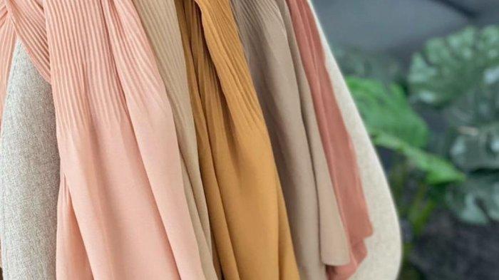 pasmina plisket dari Koyu Hijab