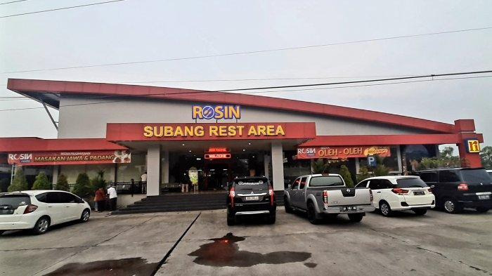 Rest area Rosin Subang