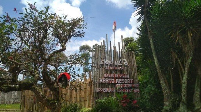Sapu Lidi Cafe, Resort and Gallery, Jalan Sersan Bajuri, Desa Cihideung, Kecamatan Parongpong, Kabupaten Bandung Barat (KBB)