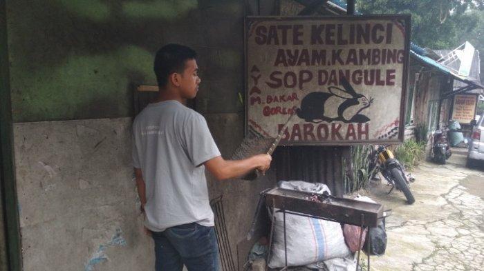 Sate Kelinci Barokah di Lembang