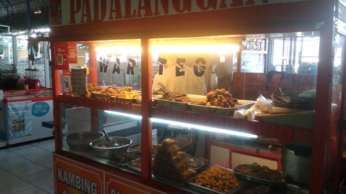 Sentra makanan di Pasar Panorama, Lembang, Kabupaten Bandung Barat