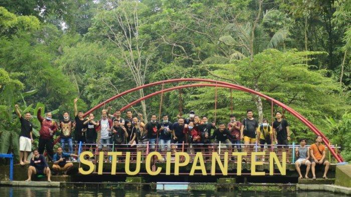 Objek wisata Situ Cipanten di Desa Gunung Kuning, Kecamatan Sindang, Kabupaten Majalengka