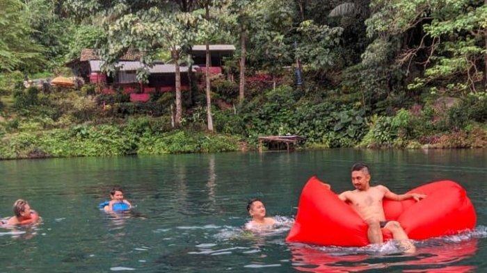Saatnya Menikmati Kesejukan dan Kejernihan Air Situ Cipanten Majalengka, Berenang Jadi Mengasyikan