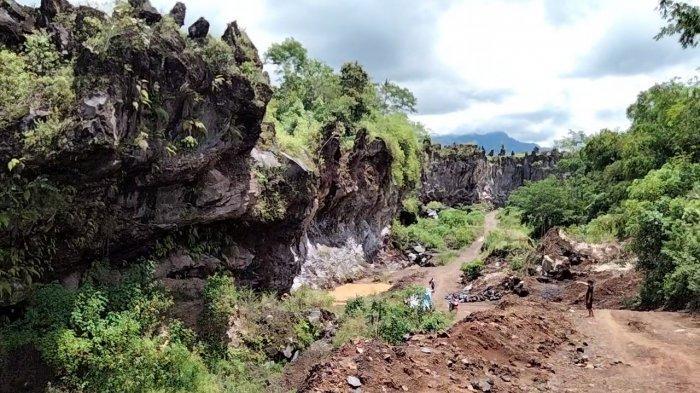 Kawasan Situ Popojok di Desa Cileuleuy, Kecamatan Cigugur, Kabupaten Kuningan