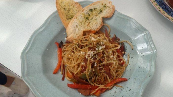 Spagheti aglio olio