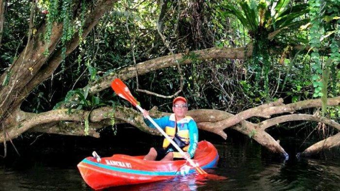 Serasa di Hutan Amazon Amerika Selatan, Spot Foto Alami di Situ Panjalu, Dinikmati Sambil Main Kayak