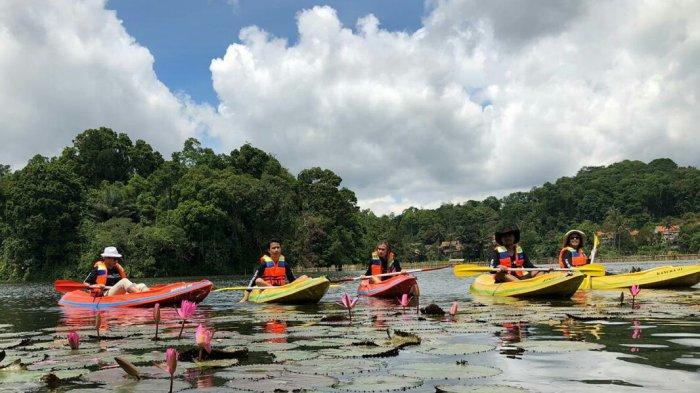 Spot Amazone di Situ Panjalu Ciamis