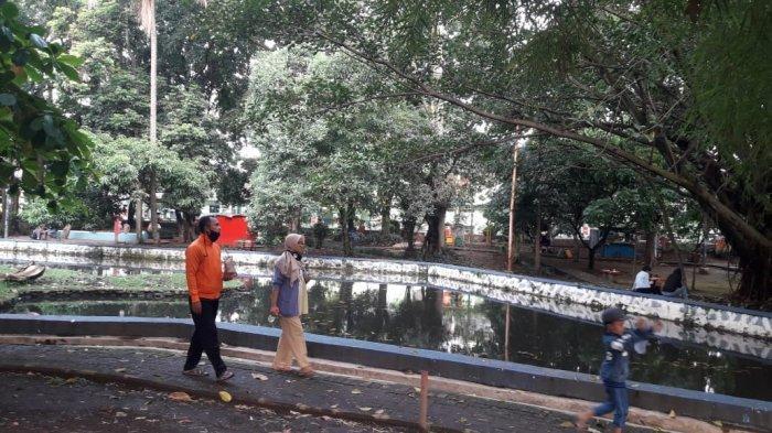 Nyaman Bersantai Sejenak di Taman Kartini Kota Cimahi, Kebersihan Harus Jadi Perhatian