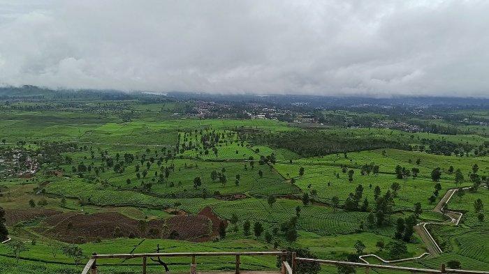 Pemandangan di Wayang Windu Panenjoan, Pangalengan Kabupaten Bandung