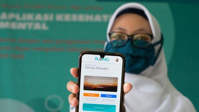 Aplikasi Plong yang dibuat pelajar SMAN 1 Ngamprah Kabupaten Bandung