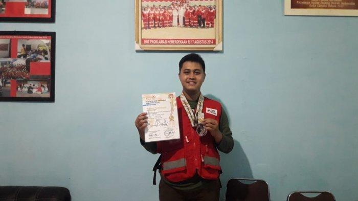 Erwan Surya Arya (24), relawan perhimpunan sosial kemanusiaan, juara Tarung Drajat