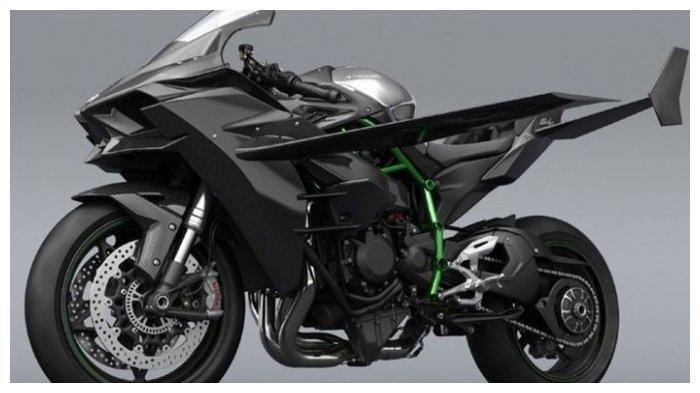 Jika Kawasaki Ninja H2R Diberi Sayap, Apakah Motor Ini Bisa Terbang? Ini Penjelasannya