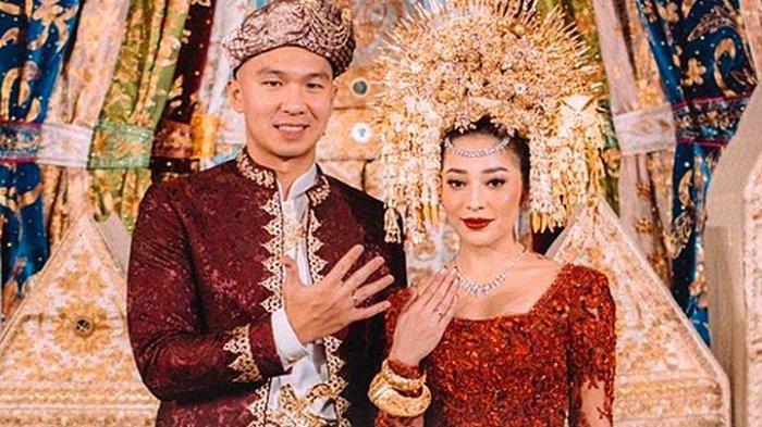 Indra Priawan menikahi Nikita Willy di kediaman Nikita, Jakarta Timur, Jumat (16/10/2020) pagi