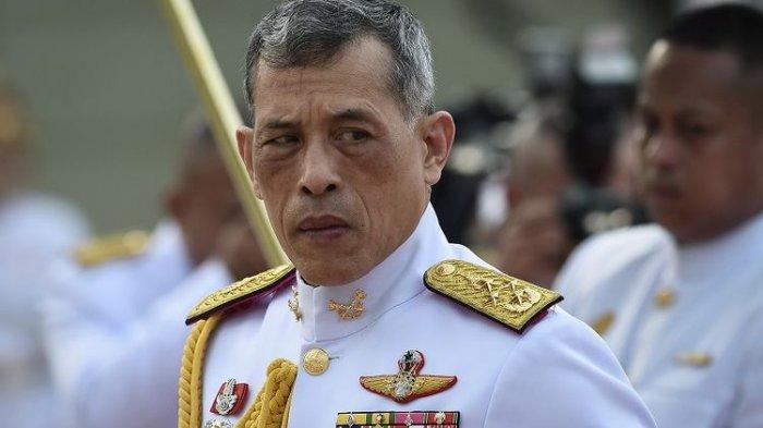 Raja Thailand Rama X Punya 20 Selir dan empat kali menikah, Sering Berada di Jerman, Ini Profilnya