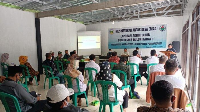 Laporan Akhir Tahub BUMDes Bersama (BUMDesma) Dulur Rahayu di Kecamatan Kiarapedes, Purwakarta.