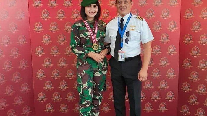 Mayor CAJ Noor Afifah dan Capt Hifny Assegaf di Seskoad, Bandung