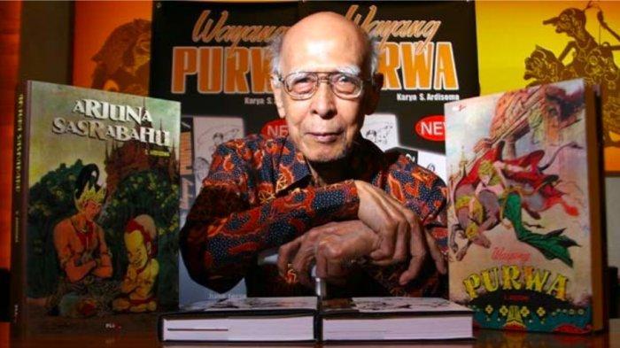 RA Kosasih Bapak Komik Indonesia Pencipta Tokoh Sri Asih, Filmnya Akan Diluncurkan oleh Bumilangit