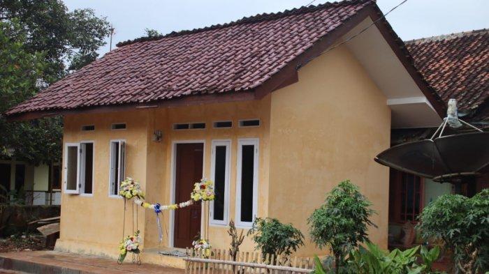 Rumah Kopka Hamim yang baru di Dusun Kaliwadas, Desa Pagon, Kecamatan Purwadadi, Subang