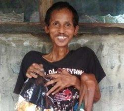 Ulee penyandang disabilitas asal Desa Plosokerep, Kecamatan Terisi, Kabupaten Indramayu