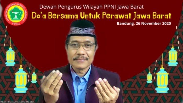 Wawan Hernawan Ketua Persatuan Perawat Nasional Indonesia (PPNI) Jawa Barat