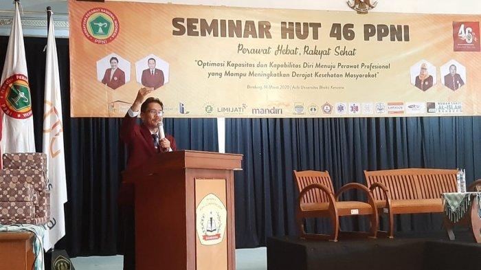 Wawan Hernawan, Ketua Persatuan Perawat Nasional Indonesia (PPNI) Jawa Barat