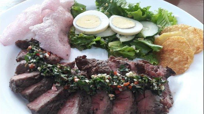Yuk Icip Karambia Steak, Makanan Barat dengan Kearifan Lokal di Cikang Resto