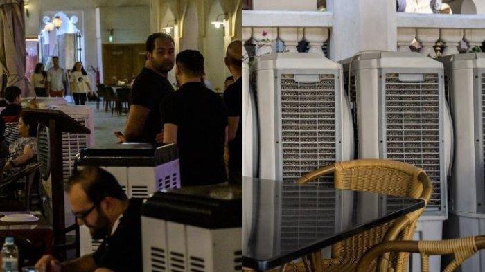 Suhu Udara Terlalu Panas, Qatar Pasang Pendingin Udara di Trotoar dan Pasar-pasar