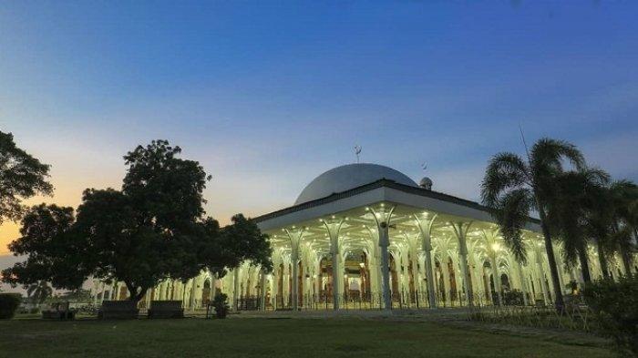Dijuluki Masjid Seribu Tiang, Masjid Agung Al-Falah di Jambi Ternyata Hanya Punya 288 Tiang