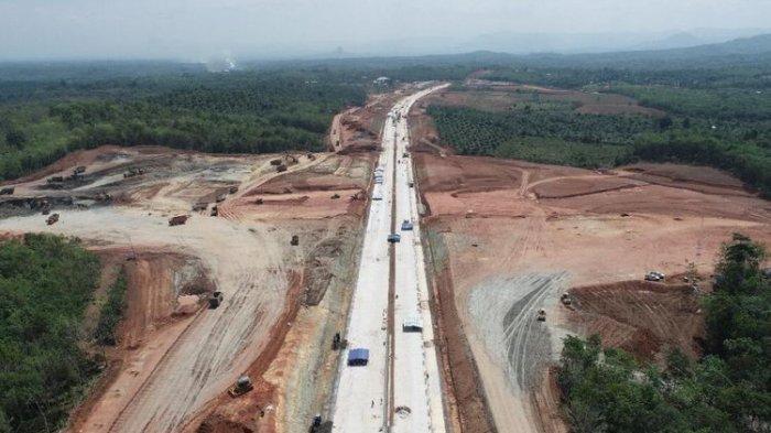 Ruas Lubuk Linggau-Curup-Bengkulu Seksi 1 Bengkulu-Taba Penanjung pada koridor pendukung Tol Trans Sumatera, Palembang-Bengkulu.