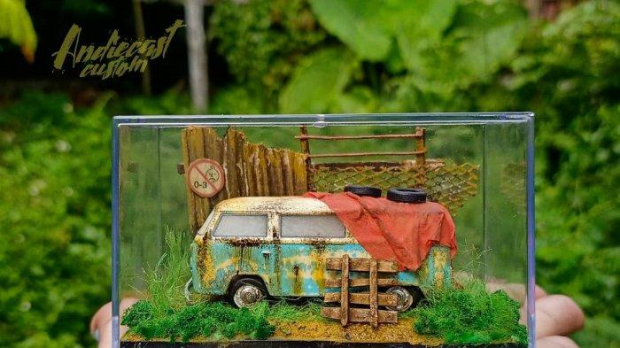 Menarik, Industri Diecast Custom Jambi, Tawarkan Nilai Seni Tinggi, Miniatur Mobil Mirip Aslinya