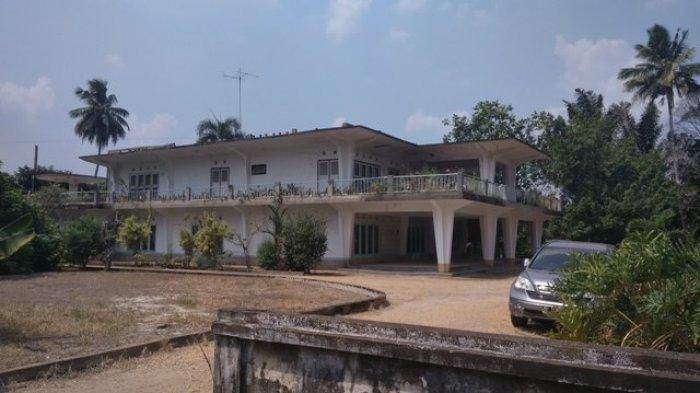 Selesai Tahun 1964, Rumah Kolonel ABunjani Masih Bisa Dilihat, Ada Ruang Bawah Tanah Juga