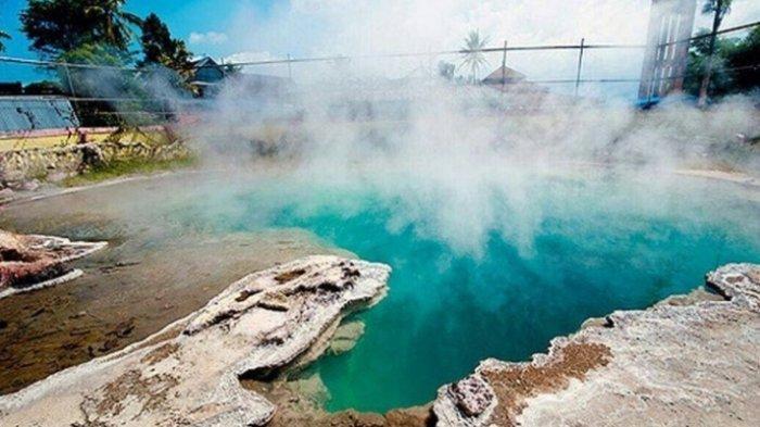 Inilah Wisata Air Panas Semurup yang terletak di Kabupaten Kerinci