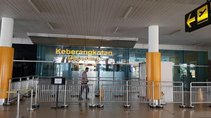 Suasana di Bandara Sultan Thaha Jambi.