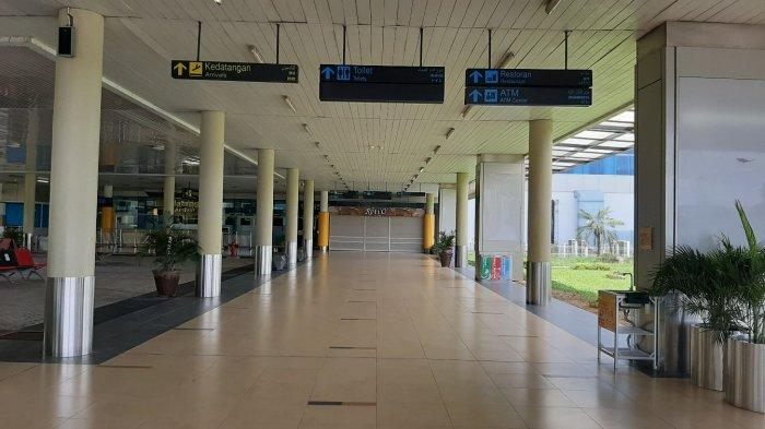 Suasana di Bandara Sultan Thaha.