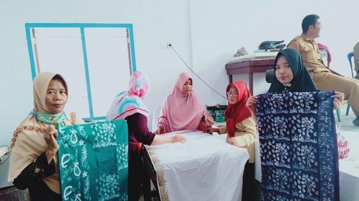 Batik Muarojambi Motif Pohon Karet dan Nanas Jadi Prioritas, Akan Dipatenkan Motifnya