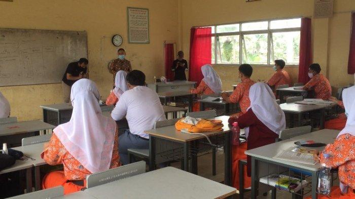 Belajar Tatap Muka di Batanghari, Terapkan Absensi Ganjil Genap Beri Peluang Pelajar Untuk Bimbel