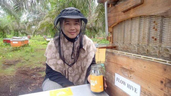 Mengenal Lebih Dekat Candralela Sang Ratu Madu Dari Jambi, Ekspor 5 Ton Madu Perbulanke Luar Negeri