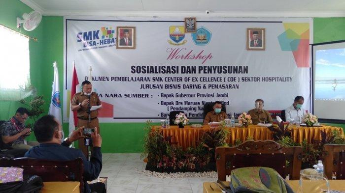 Center Of Excellence, SMKN 5 Kota Jambi Jadi Inisiator Penerapan Kurikulum Baru